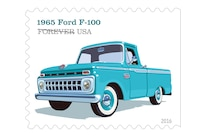 003 Ford US Postal Forever Stamps 1965 F 100