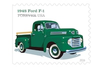 002 Ford US Postal Forever Stamps 1948 F 1