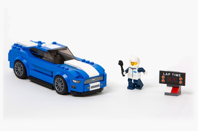 001 Ford Mustang LEGO Set Shelby