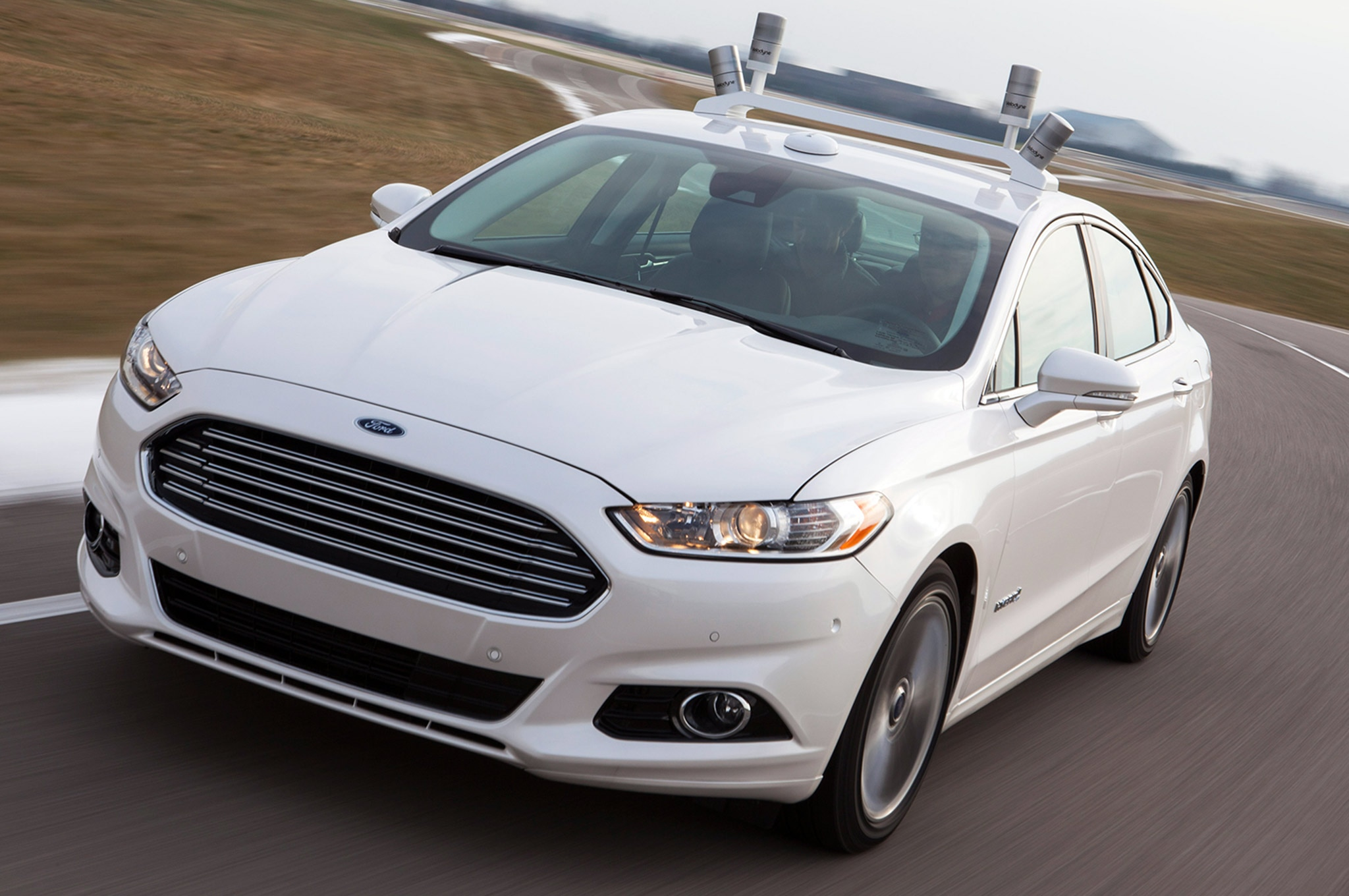 001 Ford Google Self Driving Car Accidents Fusion