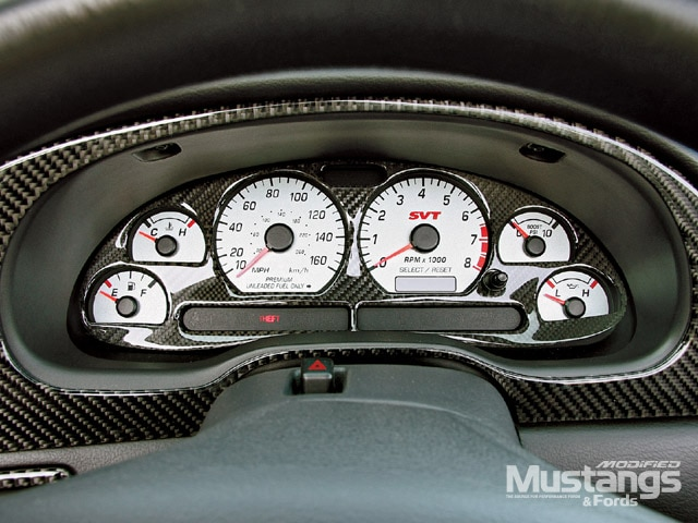 2003 Mustang Cobra Gauges