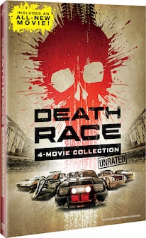 05 Death Race 4 Movie Collection Unrated Dvd Box Set