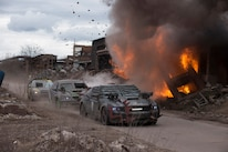 06 Death Race Beyond Anarchy Ford Mustang Explosion