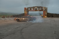 08 Death Race Beyond Anarchy Ford Mustang Burnout