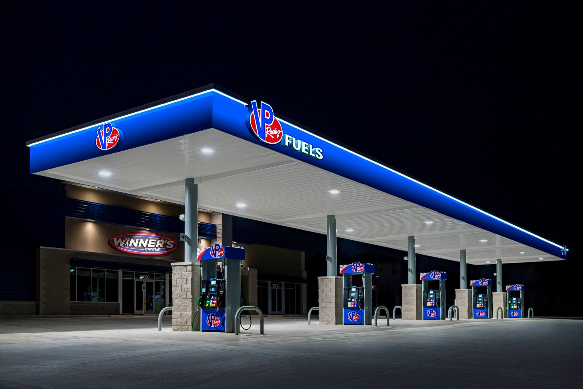 Vp Branded Gas Station