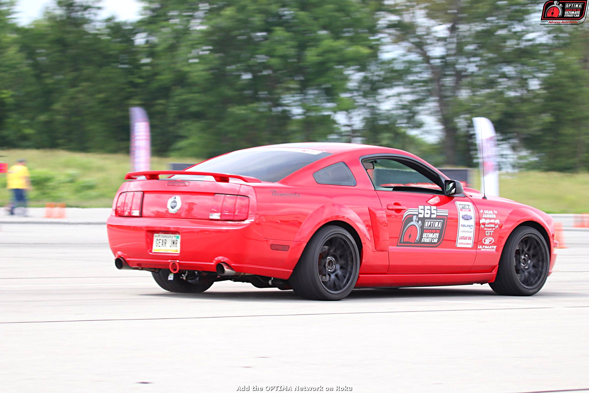 MMFF David Griffin 2006 Ford Mustang DriveOPTIMA NCM Motorsports Park 2018 153 006