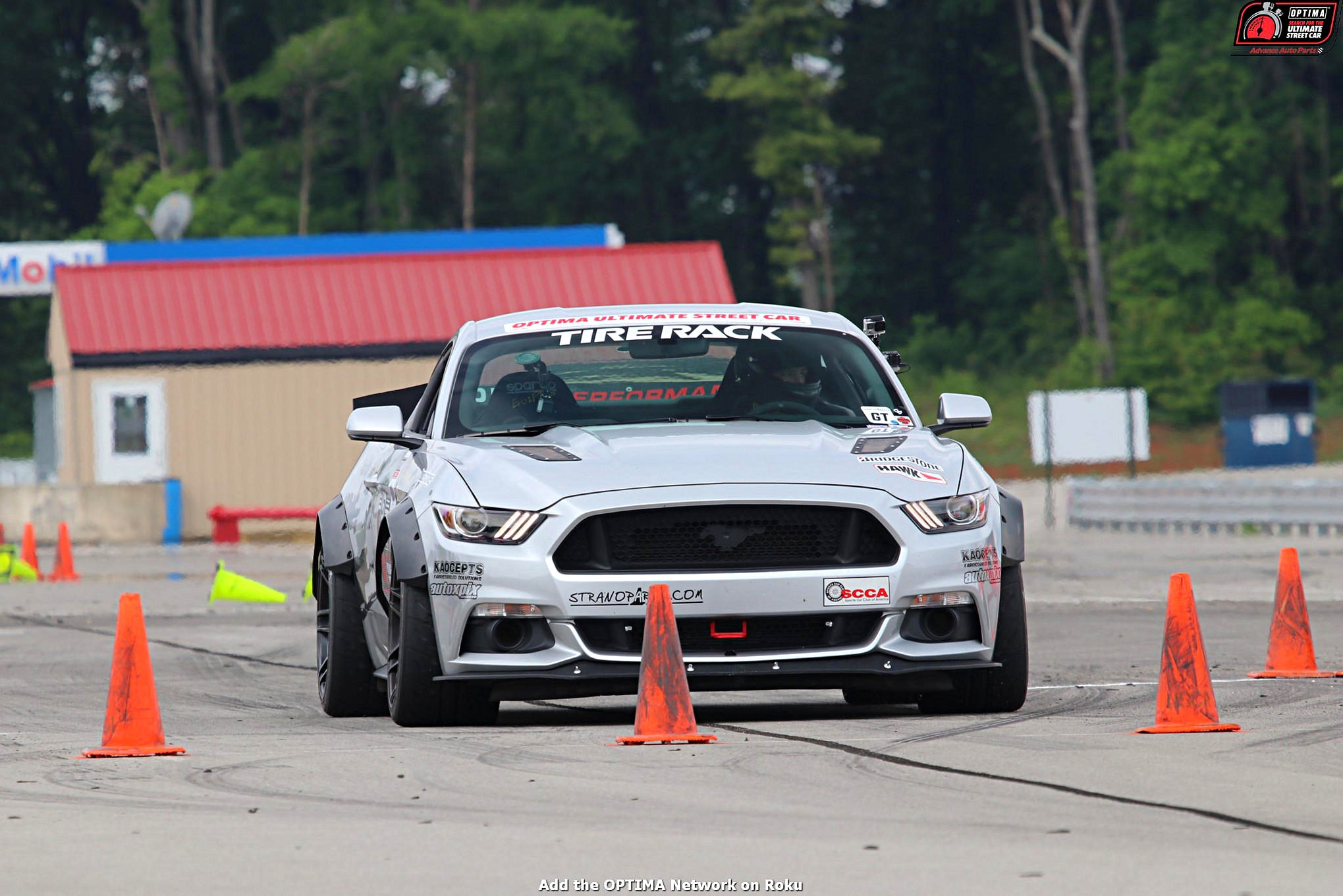 MMFF John Laughlin 2016 Ford Mustang DriveOPTIMA NCM Motorsports Park 2018 155 008