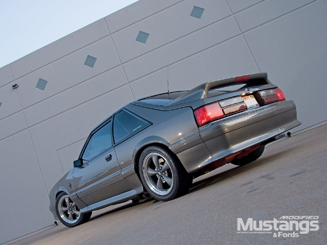 1988 Mustang Gt Backview
