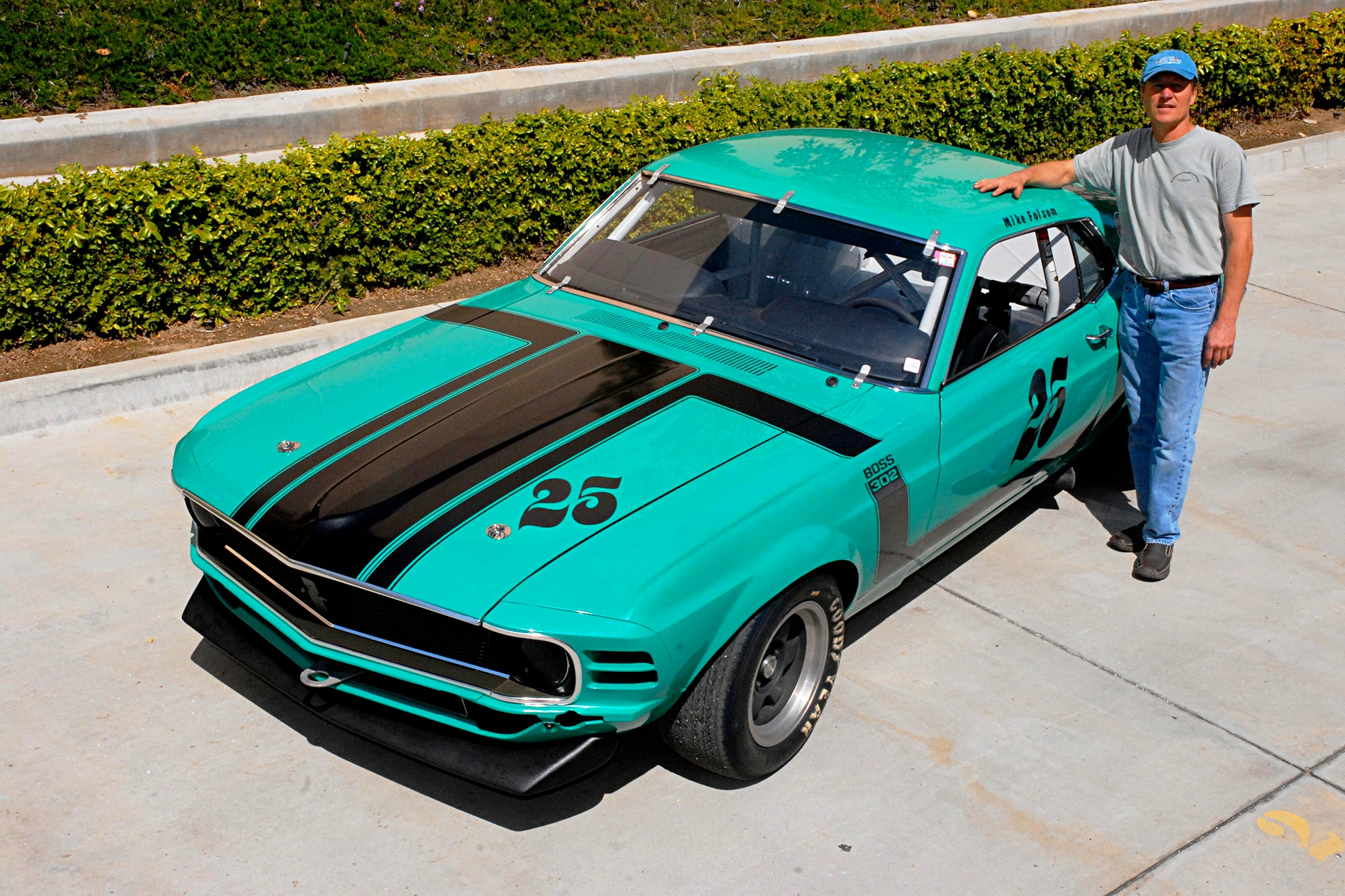 012 Conley 1970 Ford Mustang Boss 302 With Owner