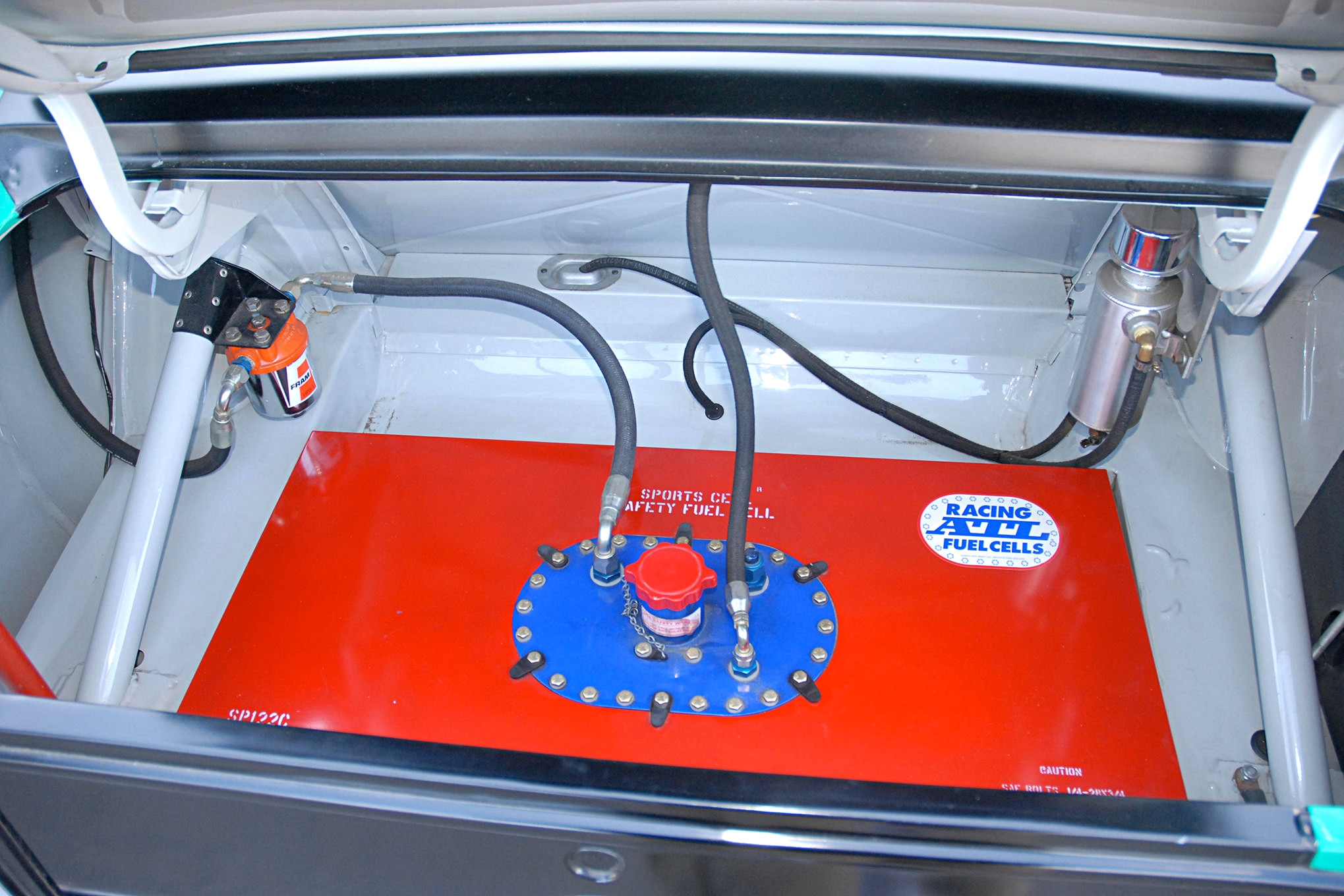 010 Conley 1970 Ford Mustang Boss 302 Fuel Cell Detail