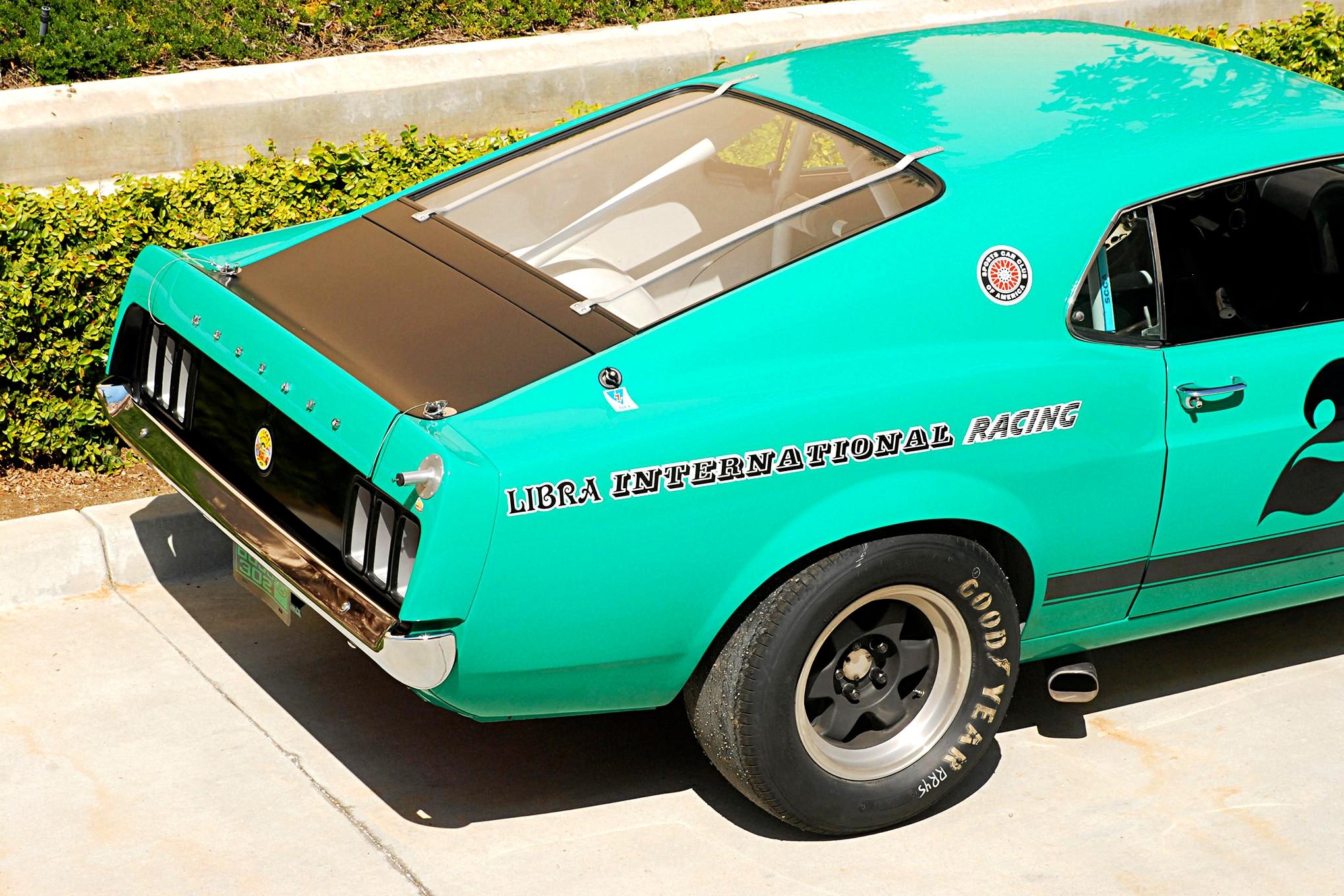 007 Conley 1970 Ford Mustang Boss 302 Rear Detail