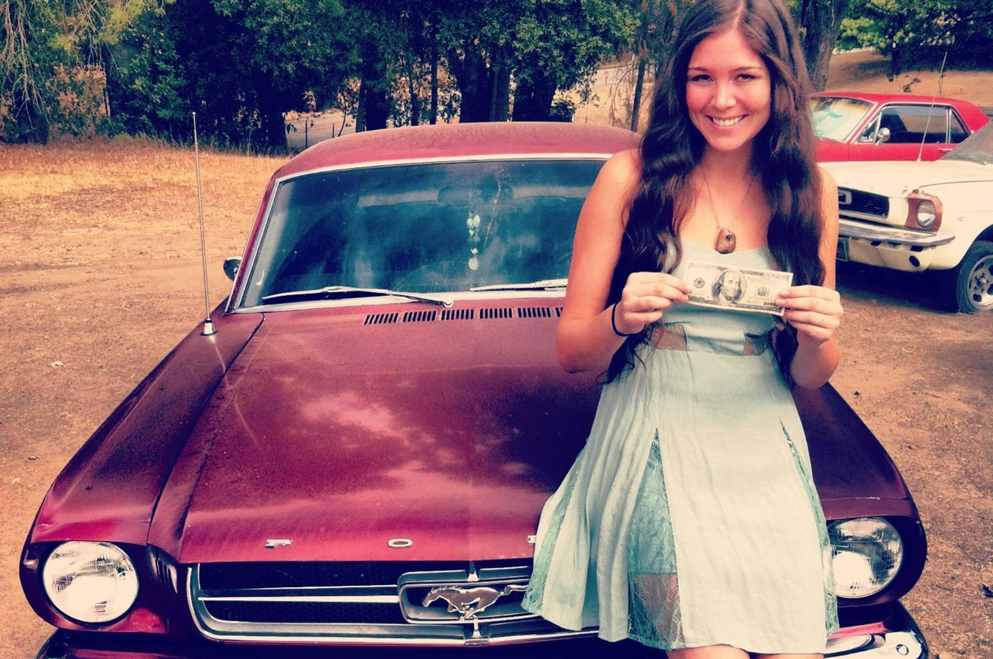 Mustang Girl Monday Becky Watson 01