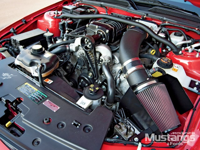 2005 Stealth R Mustang Turbocharged Engine