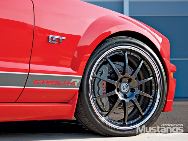 2005 Stealth R Mustang Wheels