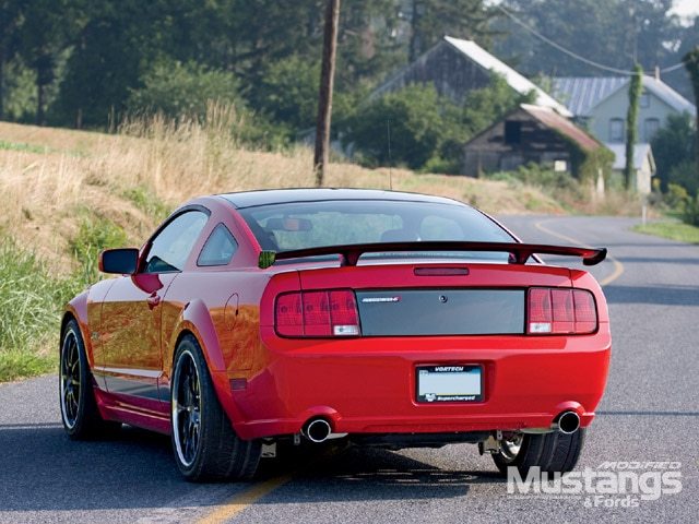 2005 Stealth R Mustang Backview