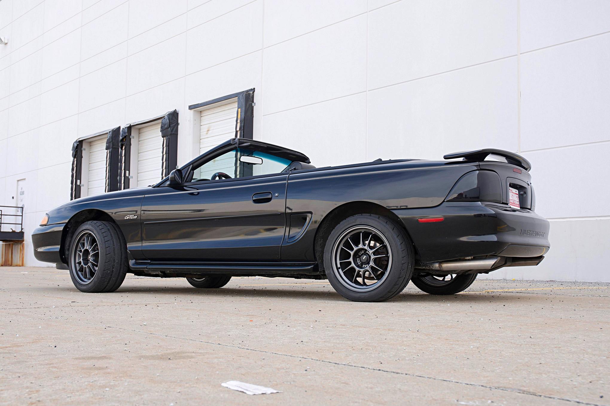 011 1997 Mustang Convertible Koenig Hypergram Nitto Nt05