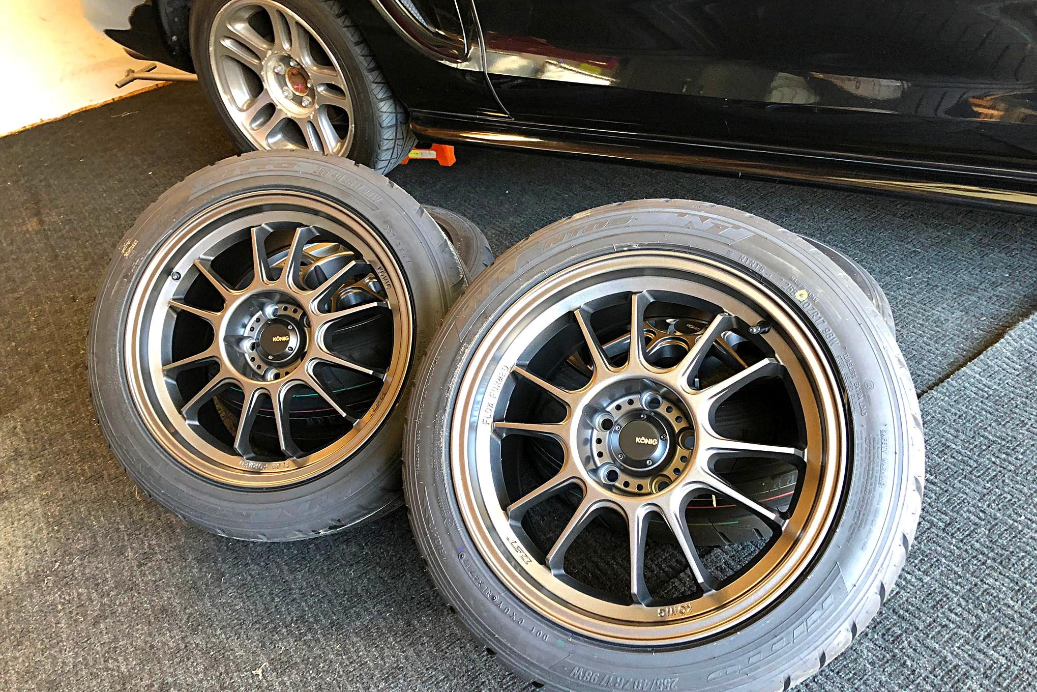 002 Mustang Koenig Hypergram Nitto Nt05 Discount Tire