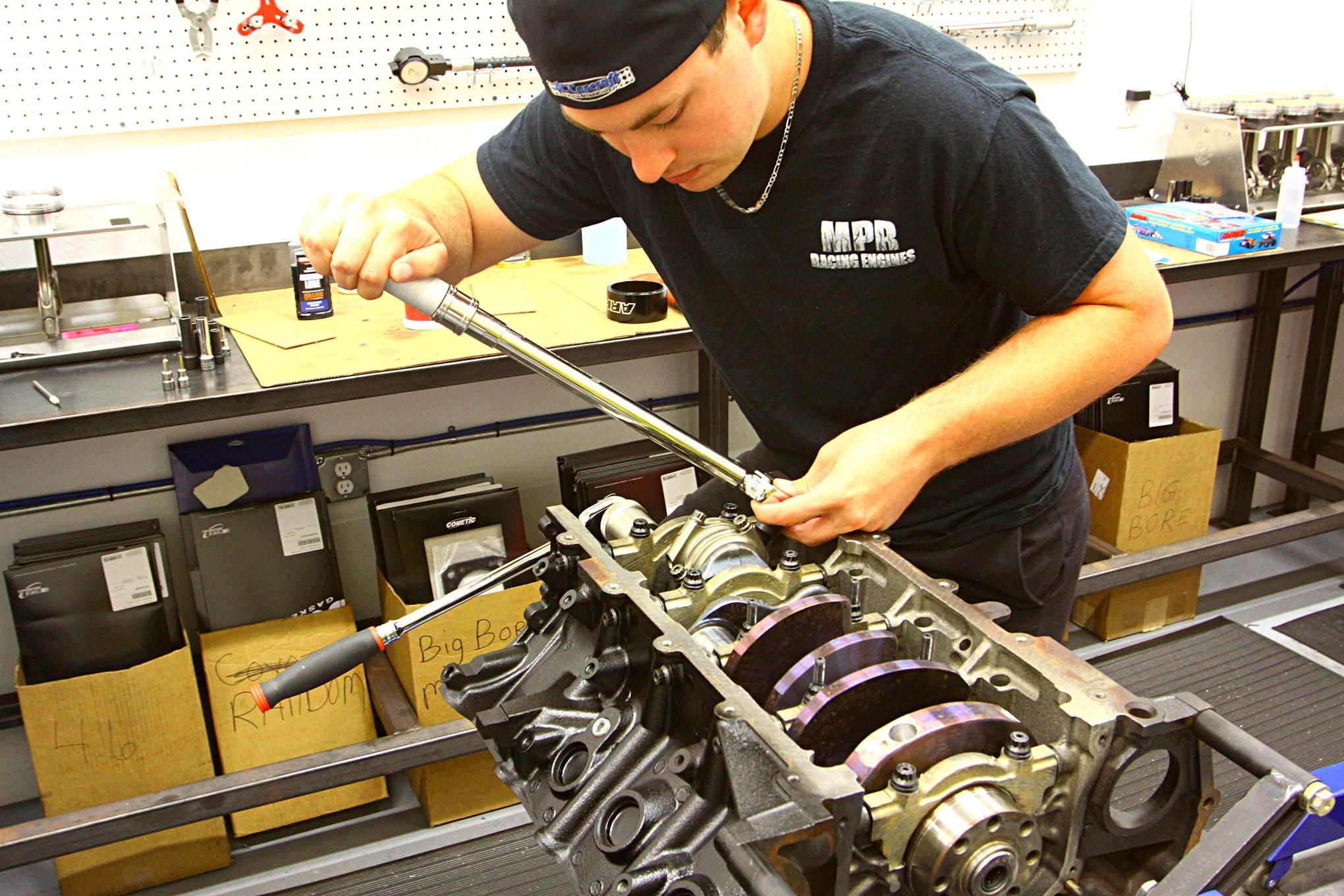 MPR Engine Build 022