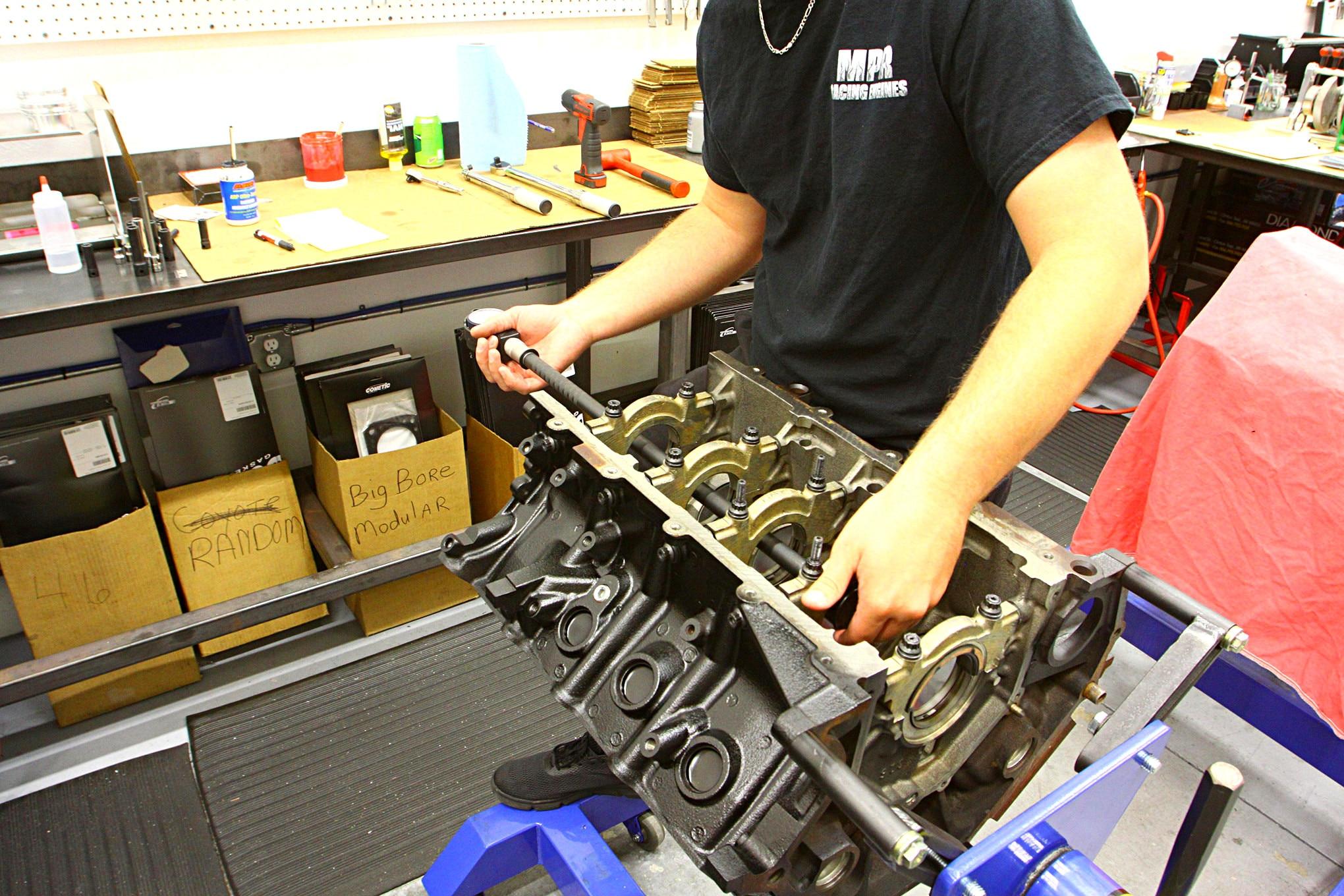 MPR Engine Build 010