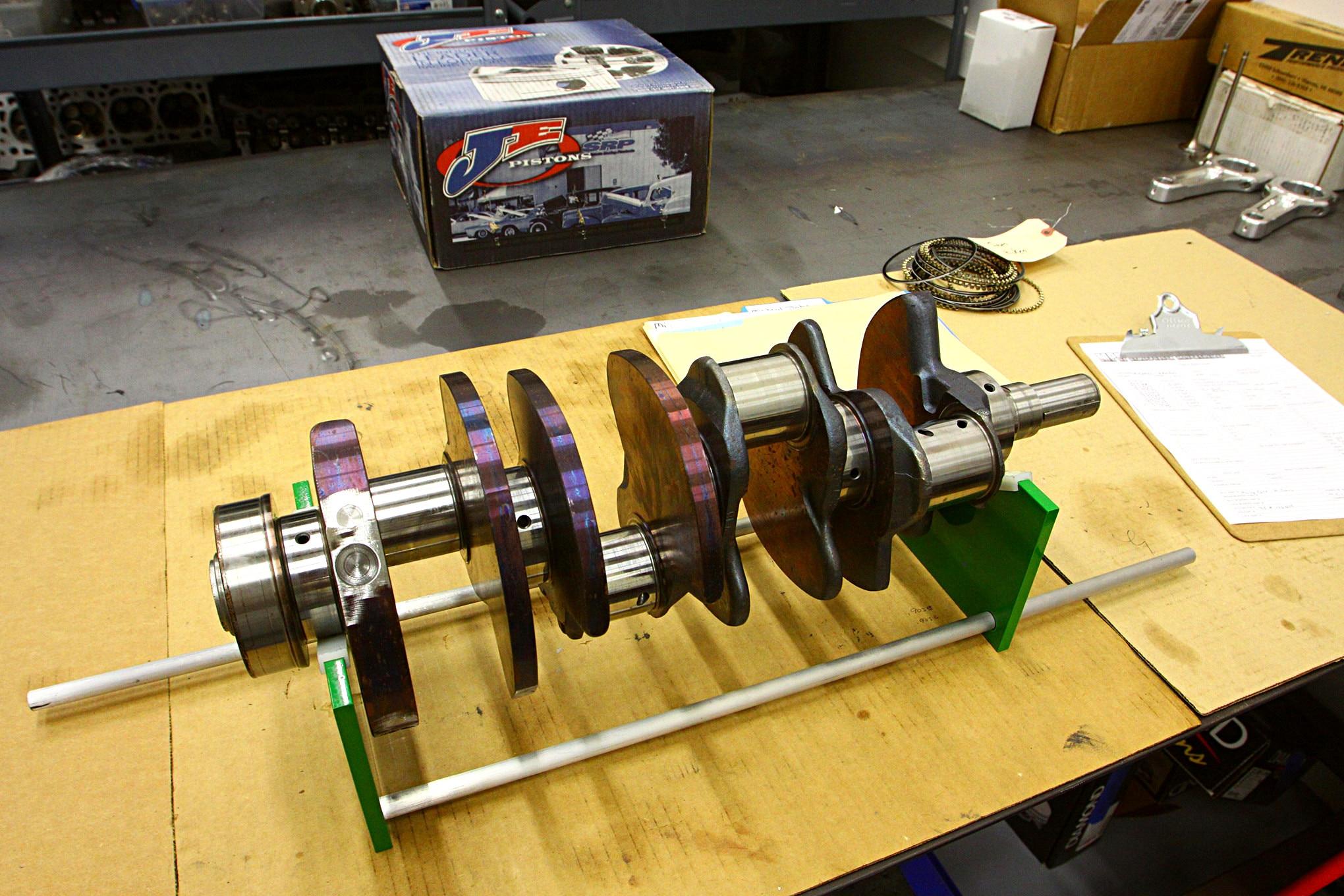 MPR Engine Build 004