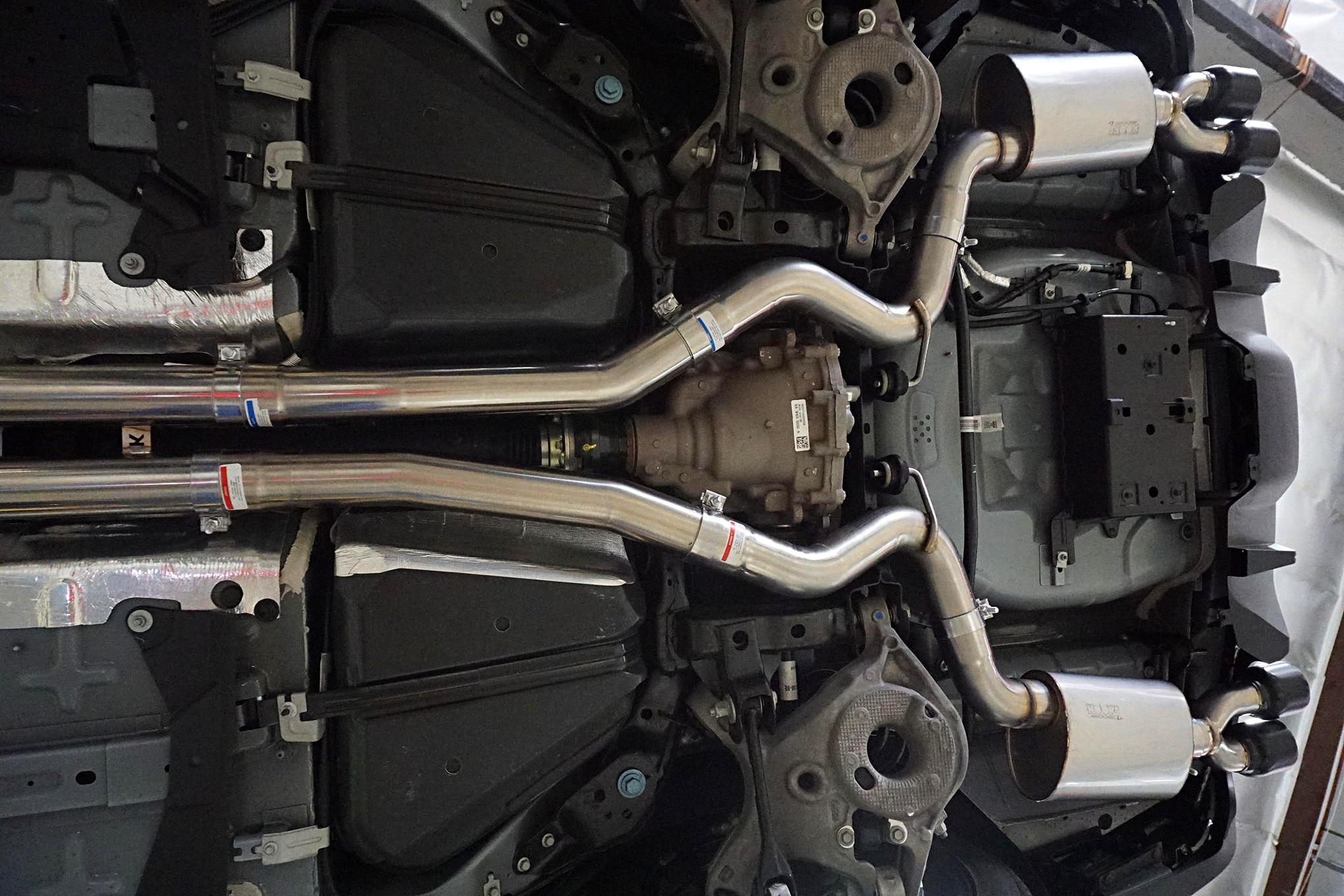 044 Mustang Kooks Exhaust