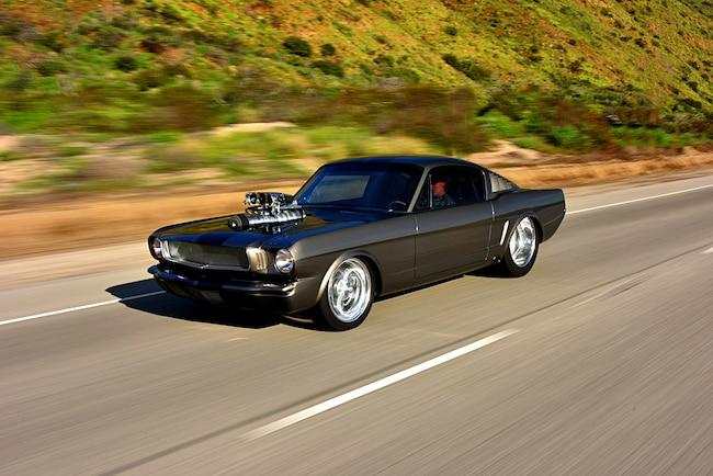 Pro Street 1966 Mustang 001