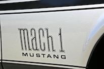 Querio 1971 Ford Mustang Mach 1 Fender Decal Detail