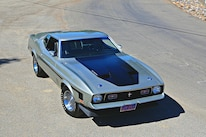 Querio 1971 Ford Mustang Mach 1 Front Three Quarter