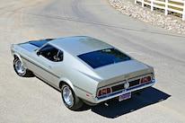 Querio 1971 Ford Mustang Mach 1 Rear Three Quarter
