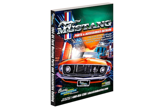 01 Classic Industries Ford Mustang Parts Catalog 1965 2004