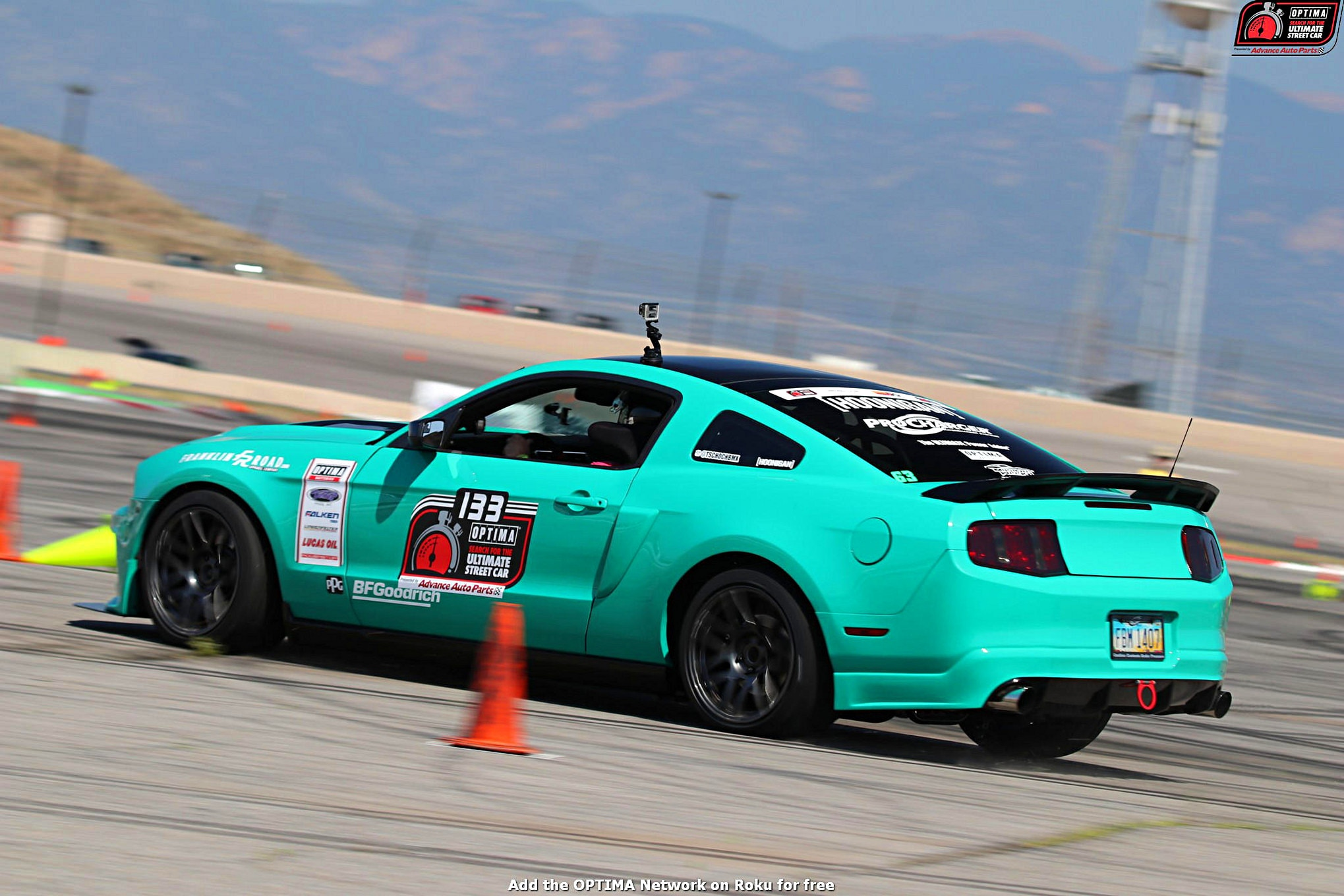 Tim Schoch 2011 Ford Mustang DriveOPTIMA Pikes Peak International Raceway 2018 238