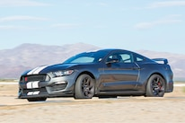 2016 Ford Mustang Shelby Grey White Stripes