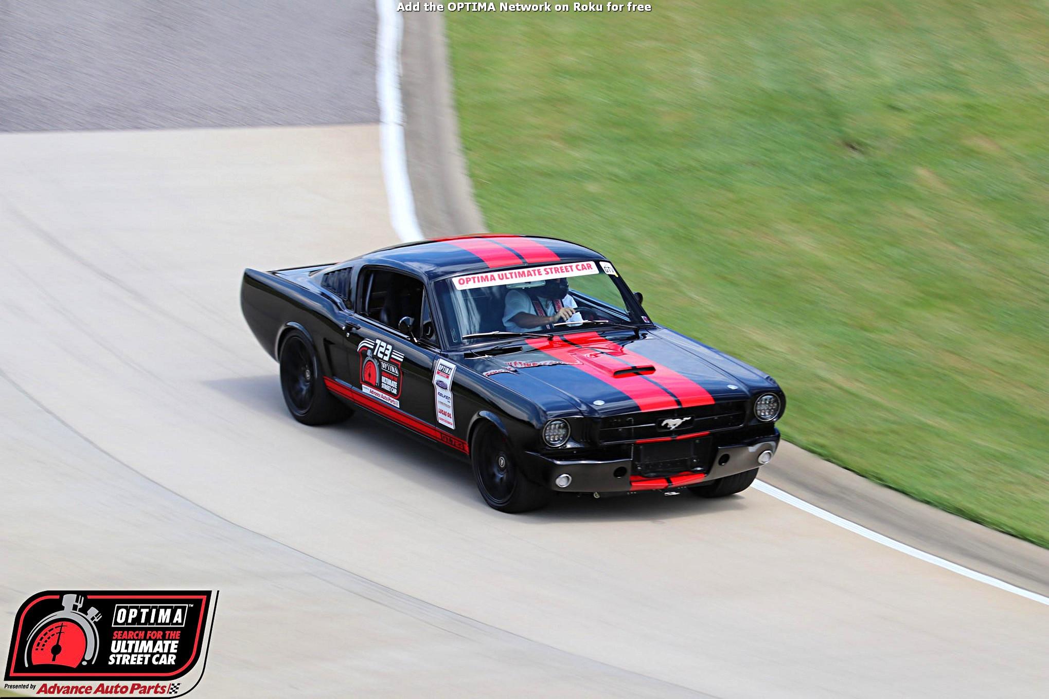 Robert Britton 1965 Ford Mustang DriveOPTIMA Barber Motorsports Park 2018 423