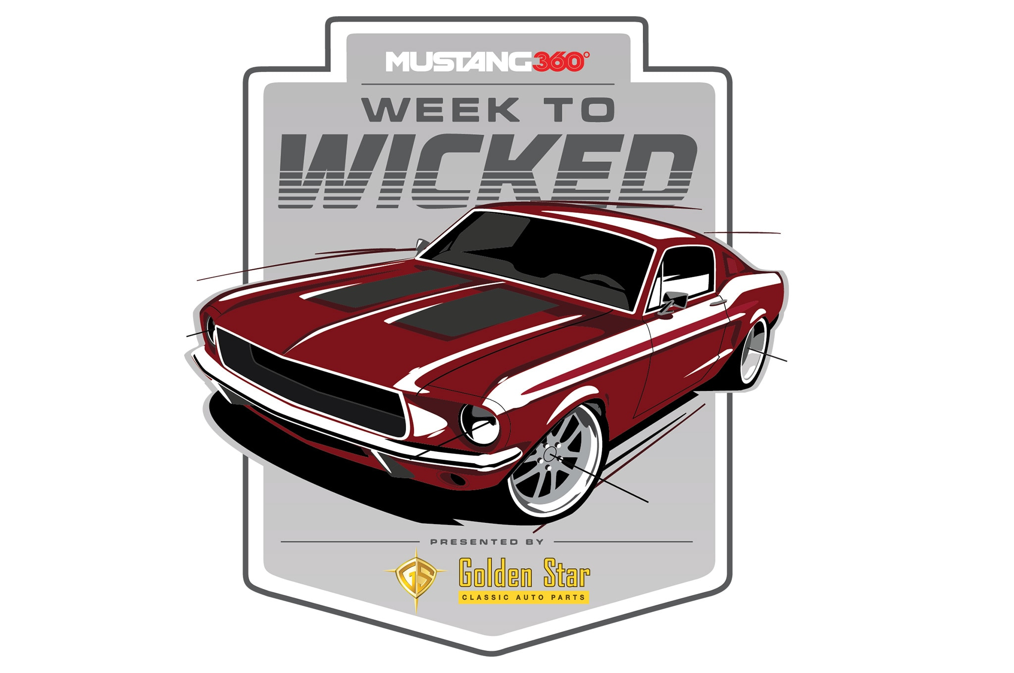 Week To Wicked 1967 Fastback Conversion Logo
