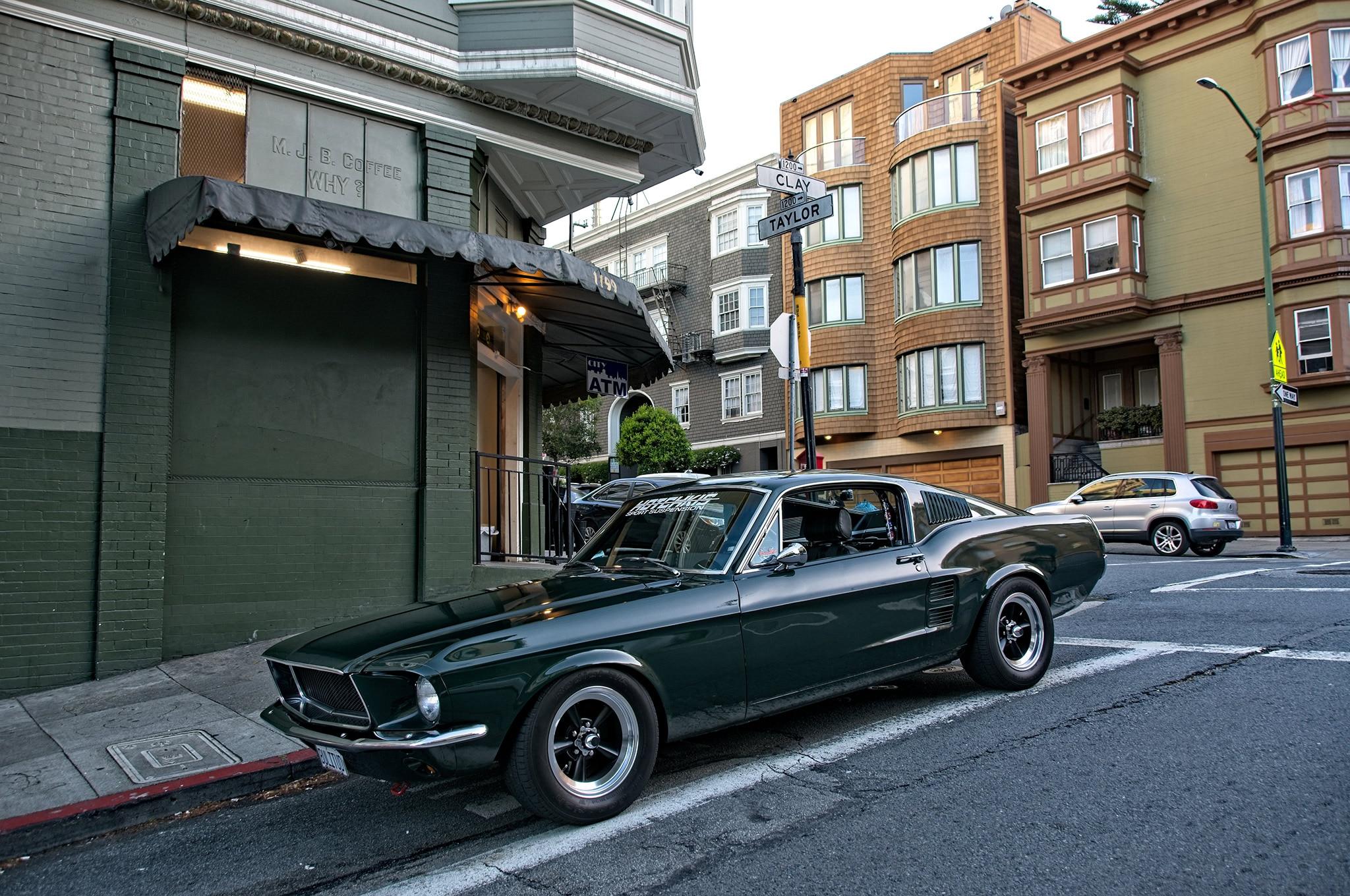 1967 Ford Mustang Shelby Bullitt Tribute 001