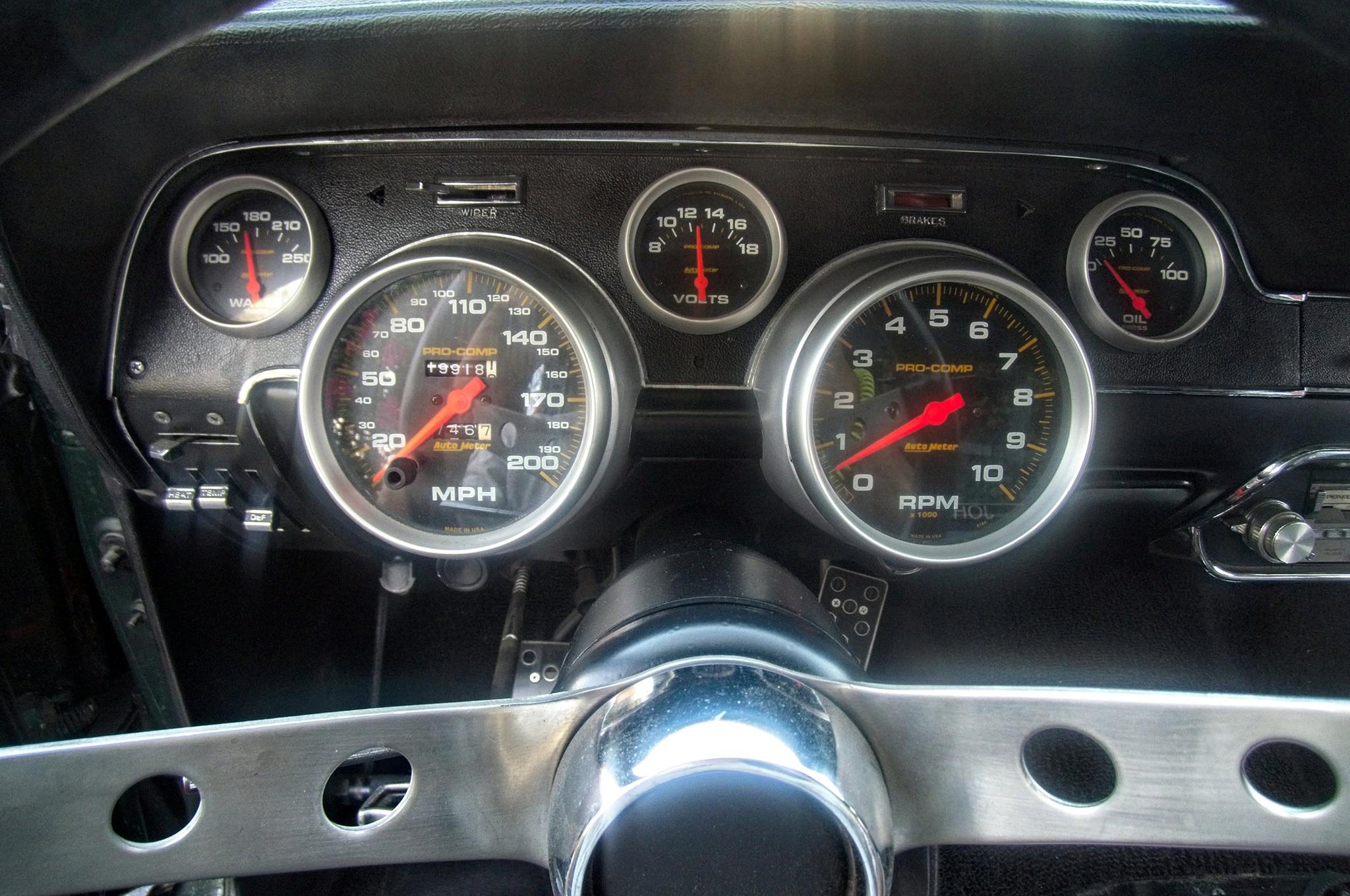 1967 Ford Mustang Shelby Bullitt Tribute 018