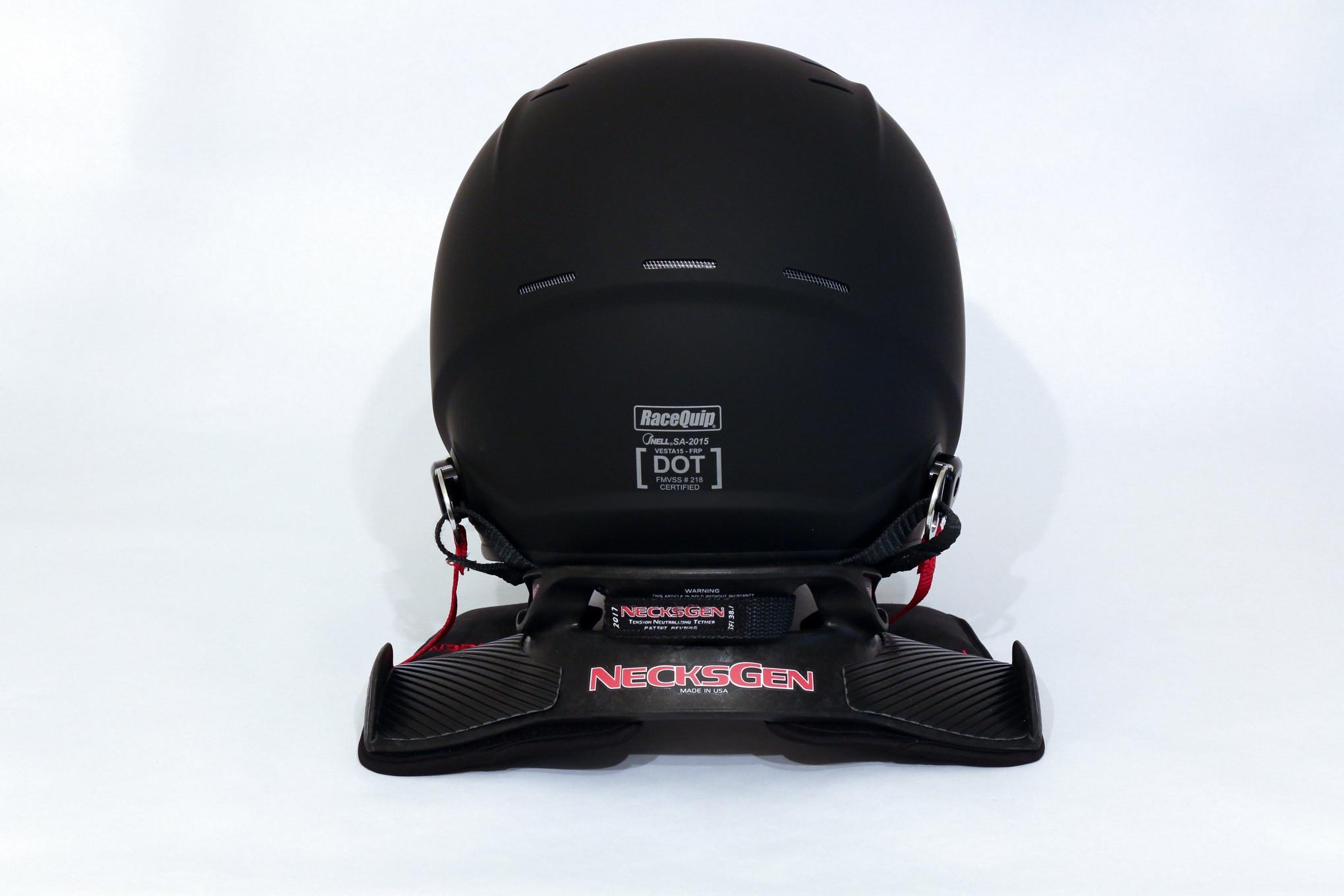 012 Racequip Helmet Vesta15 Necksgen