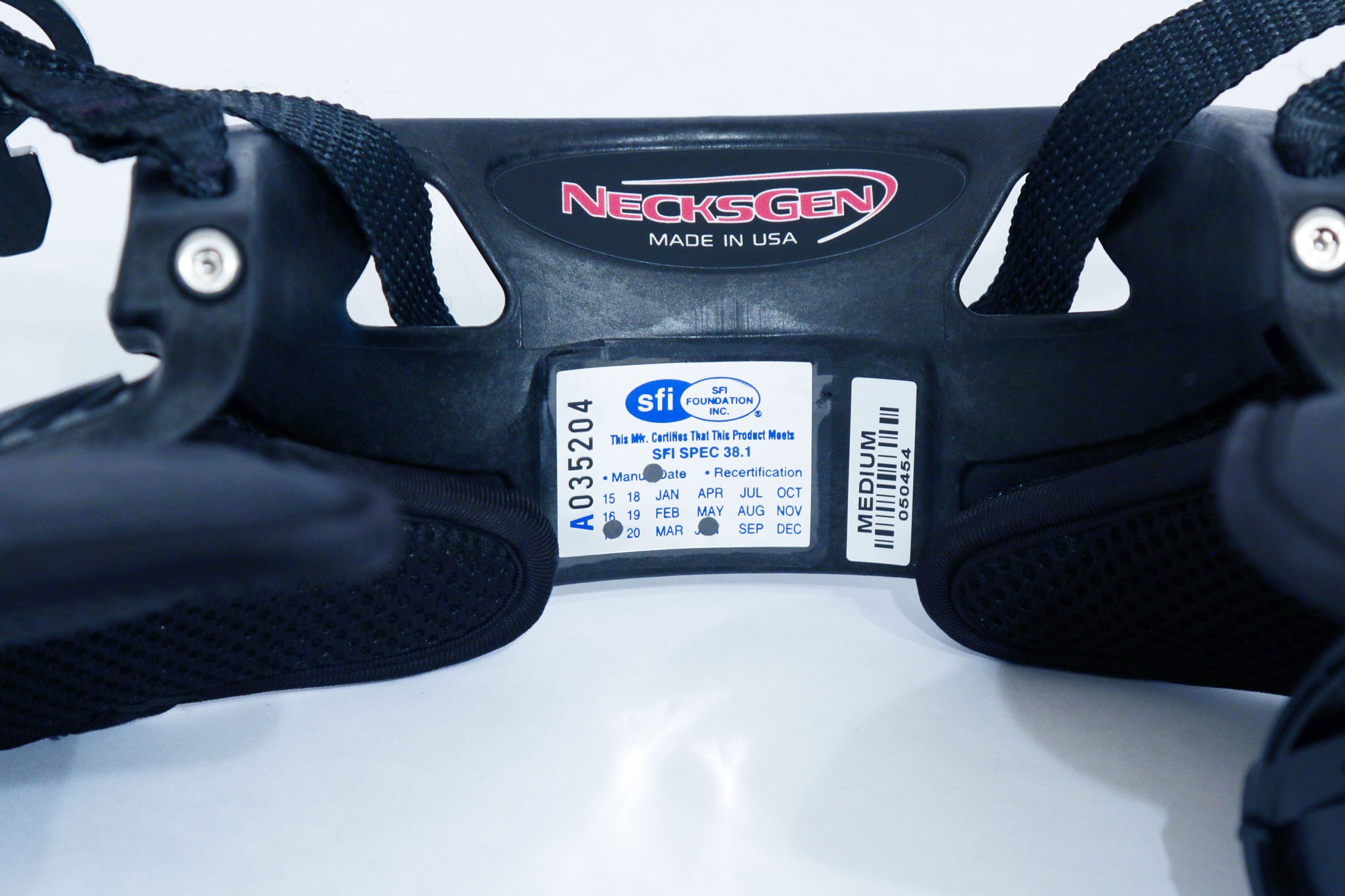 010 Necksgen Rev2 Lite Head And Neck Restraint