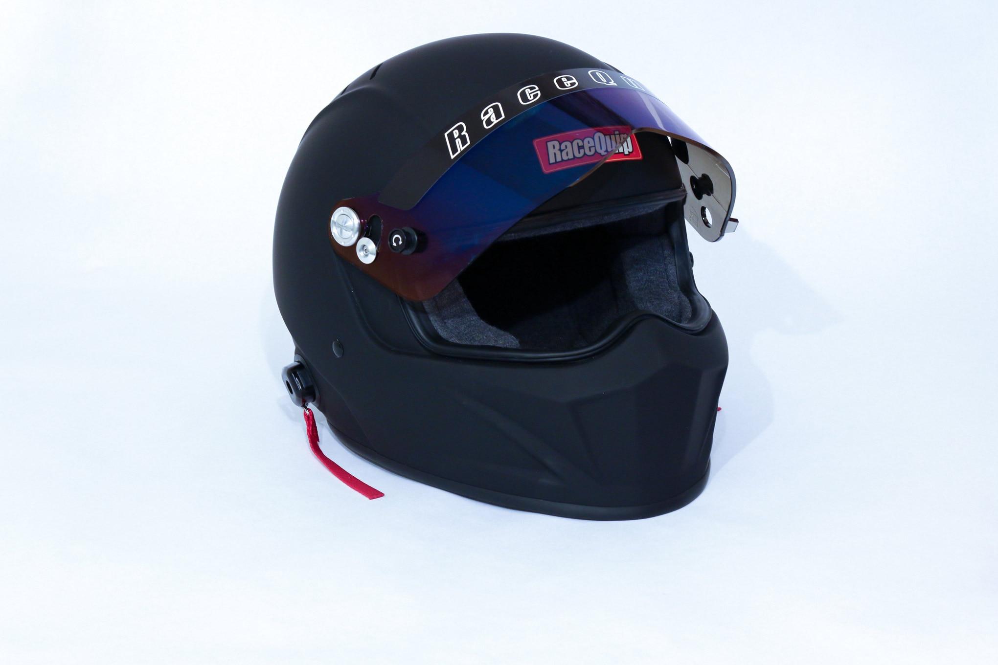 002 Racequip Helmet Vesta15 Black