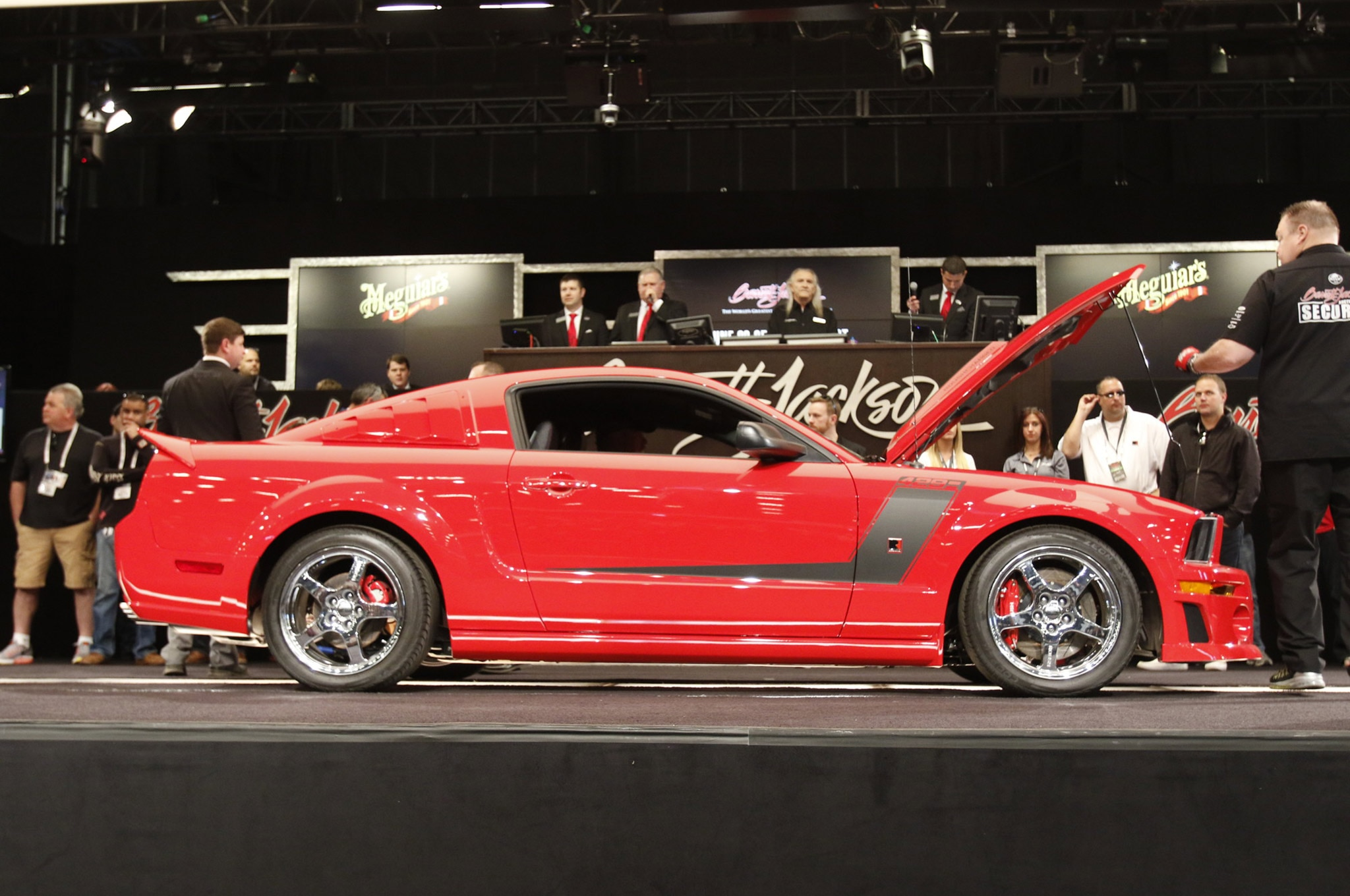 Jack Miller Barn Collection Mustangs Barrett Jackson 24