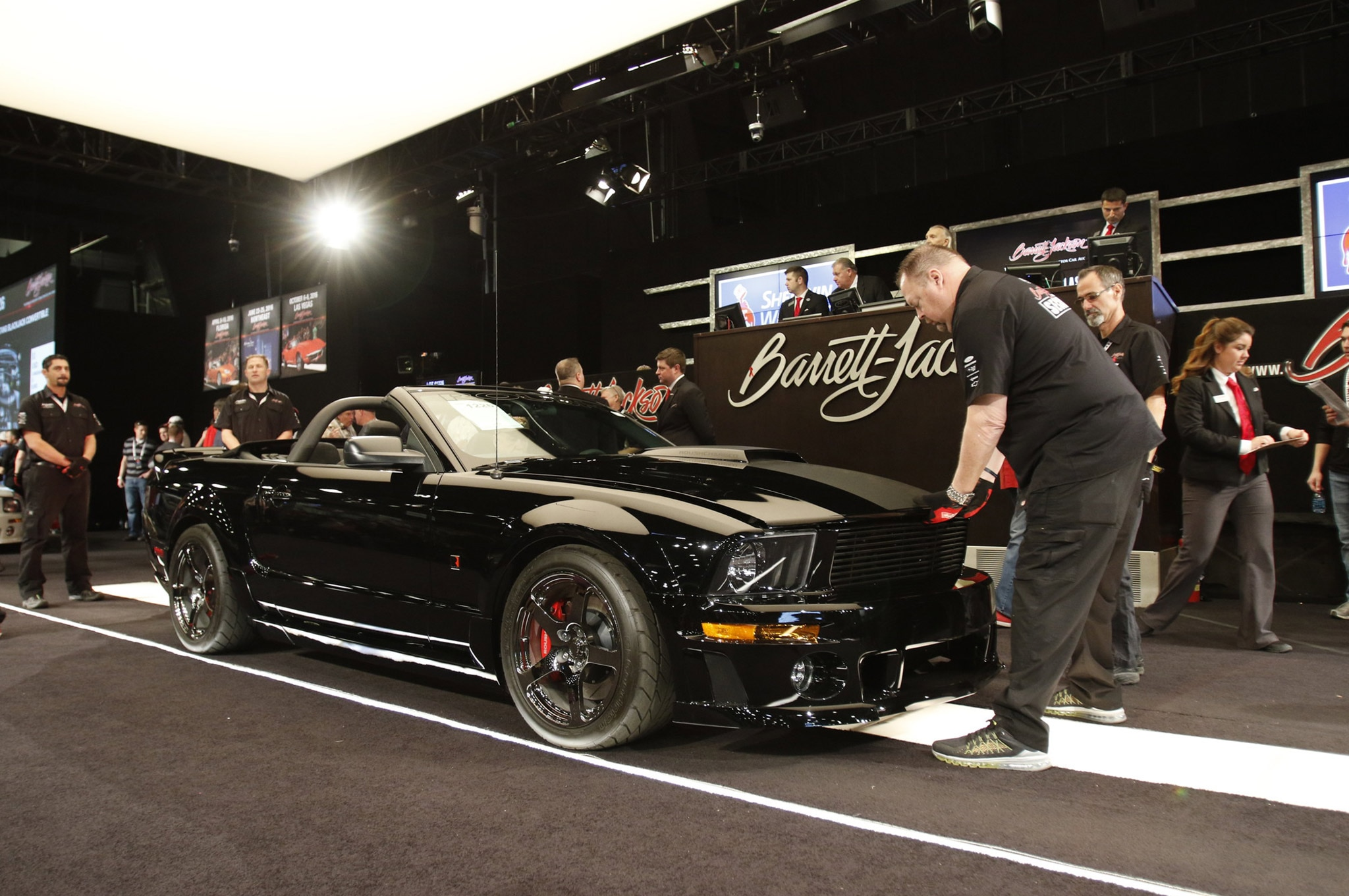Jack Miller Barn Collection Mustangs Barrett Jackson 12