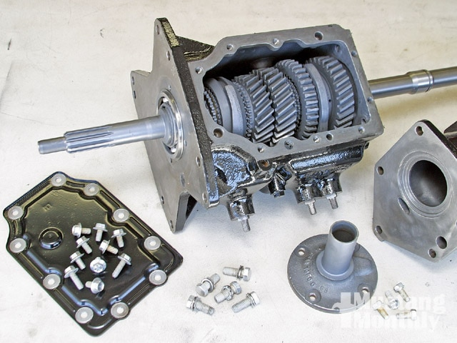 Mump 0903 01 Z Ford Top Loader Transmission Four Speed