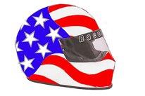 002   Racequip Helmet Flag Graphics