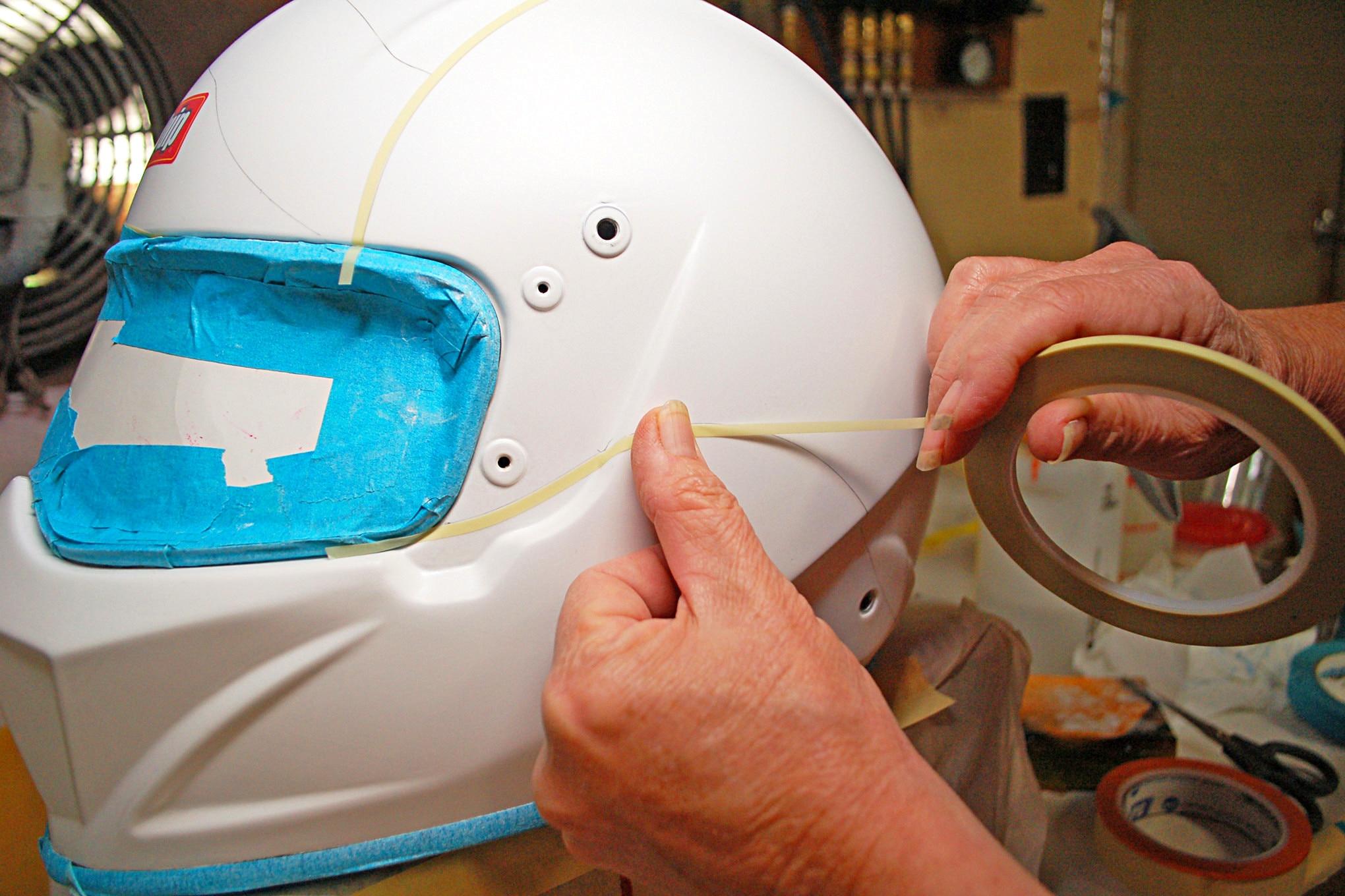 004 Racequip Helmet Flag Design Tape