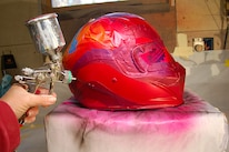 008 Helmet Paint Ppg Deltron Red Pearl