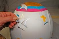 013 Helmet Flag Paint Stars Masking