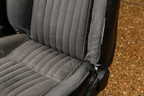 002 Mustang Gt Front Seat Worn Bolster Faded Stained