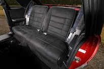 030 Corbeau Black Suede Seat Cover Mustang