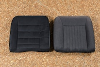 023 Corbeau Seat Stock Back Seat Comparison