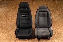 027 Corbeau GTSII Seat Mustang Front Seat